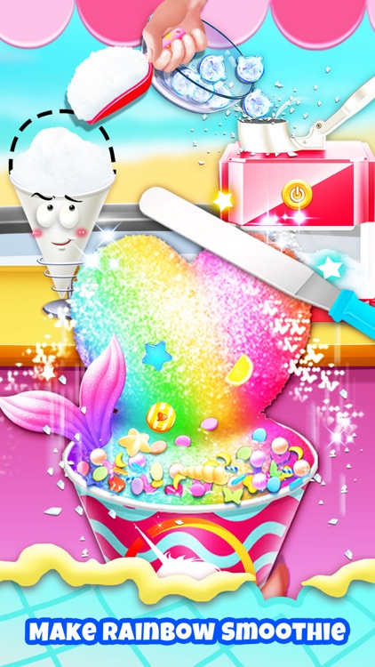 Unicorn Chef: Ice Foods Games