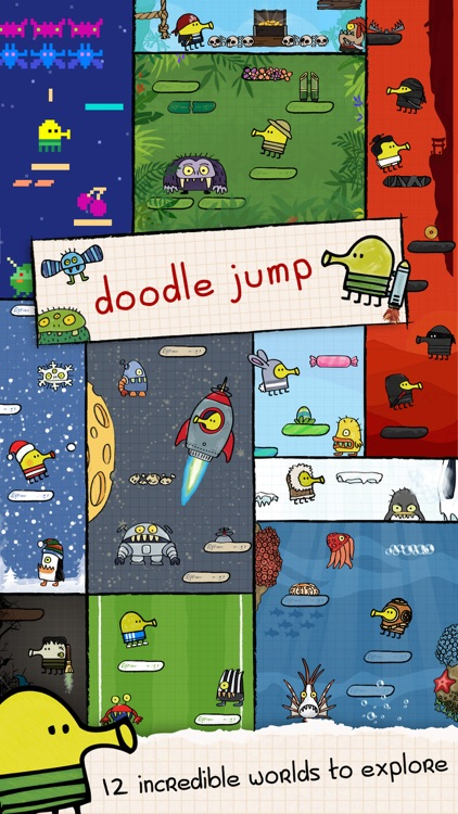 Doodle Jump - Insanely Good! screenshot-1