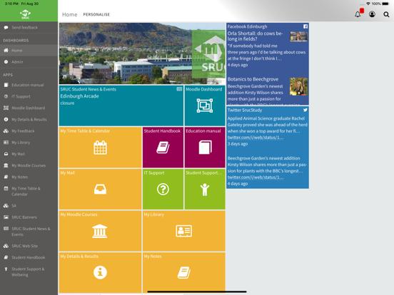 MySRUC screenshot 4