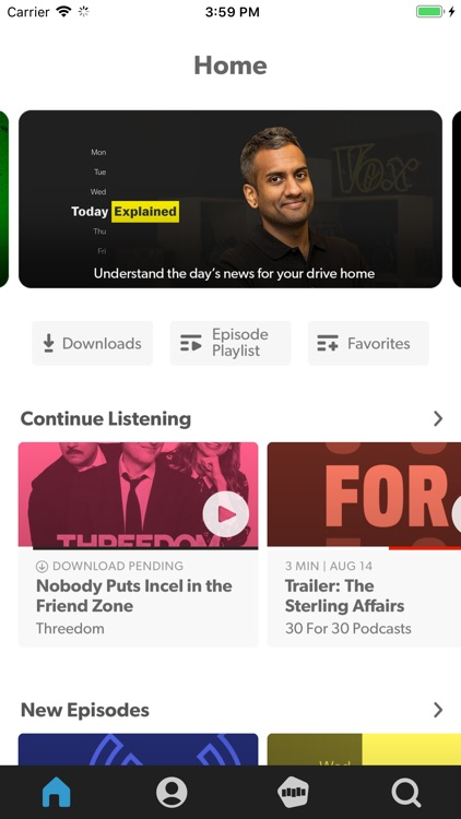 Stitcher for Podcasts screenshot-4