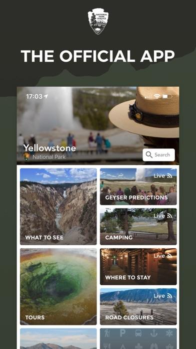 NPS Yellowstone National Park screenshot one