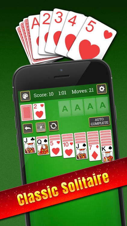 Solitaire: Classic Card Puzzle screenshot-0