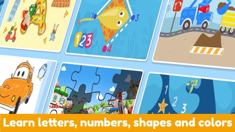 Car City World: Montessori Fun screenshot-3