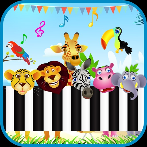 Baby Piano Animal Sounds Game iOS App