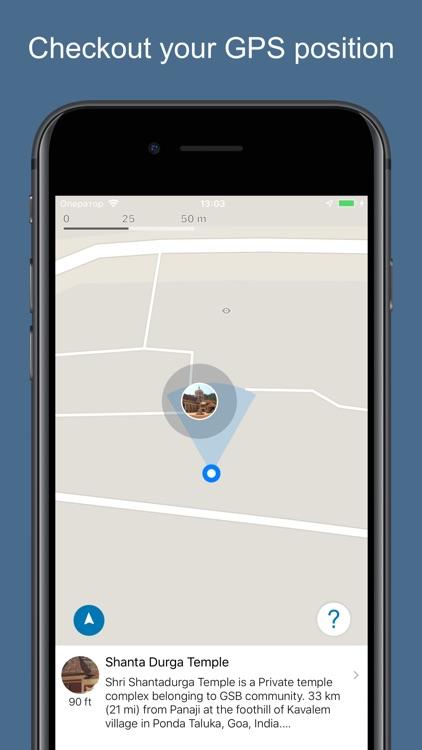 Goa 2020 — offline map screenshot-3