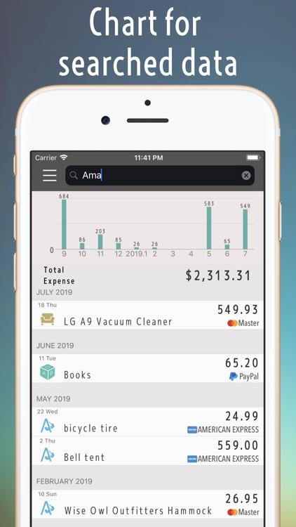 Money tracker:the Account book screenshot-5