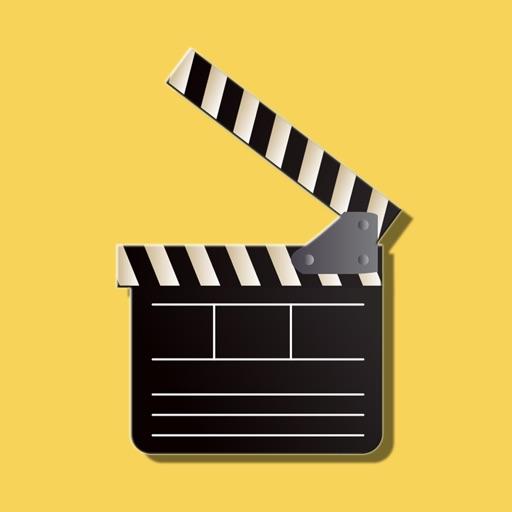 Golden Movie Screen Stickers