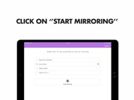 Mirror for Sony Smart TV ipad images