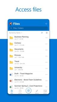 Microsoft OneDrive iphone images