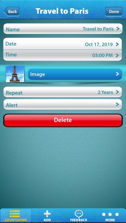 Big Days - Countdown screenshot-5