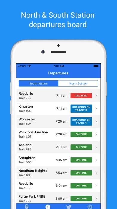 MBTA Rail Screenshot