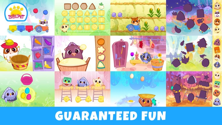 Bibi Farm Kids Games for 2 3 4 screenshot-4