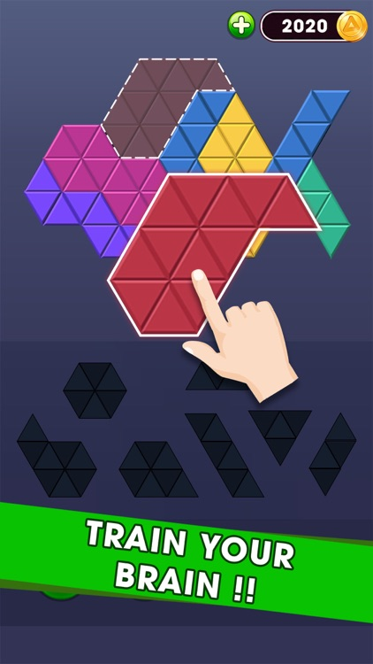 Triangle Puzzle - Block Hexa screenshot-3
