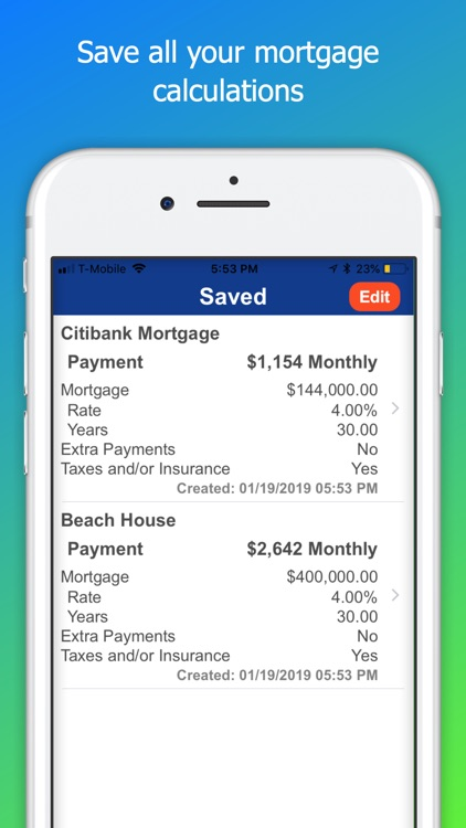 Mortgage Calculator Plus screenshot-3