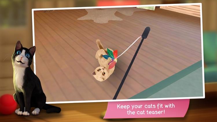 CatHotel - Care for cute cats screenshot-5
