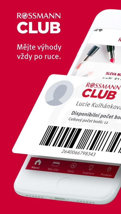 Screenshot for ROSSMANN CLUB in Spain App Store