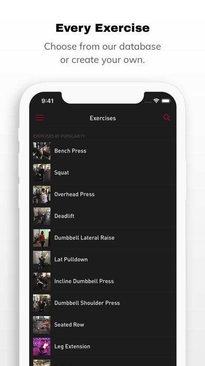 Gravitus - Workout Tracker screenshot-7