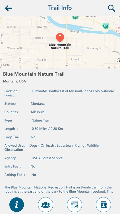 Montana Recreation Trails screenshot-2