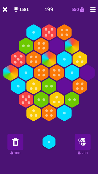Hexa Bang screenshot #1