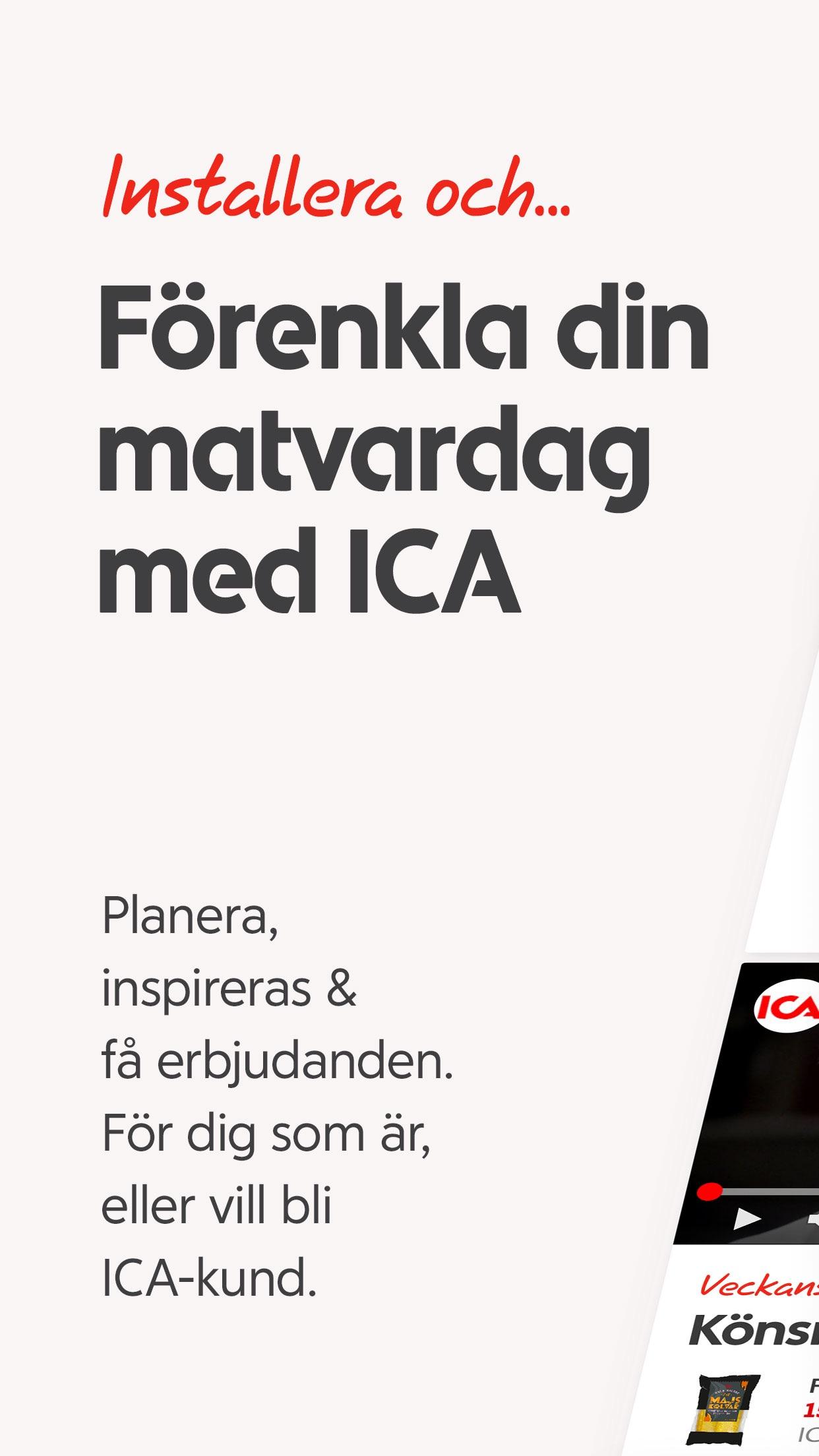 ICA Screenshot