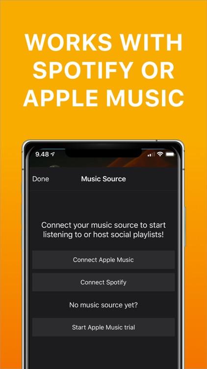 Playmysong Social Playlist App screenshot-3