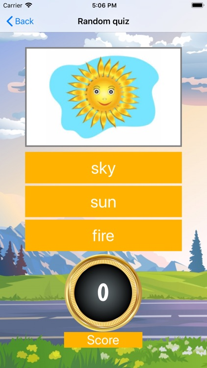 Nature vocabulary word screenshot-4