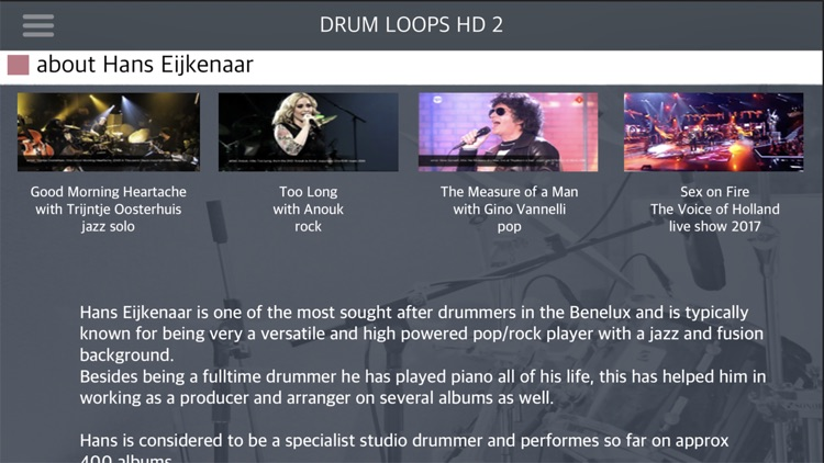 Drum Loops HD 2 screenshot-7