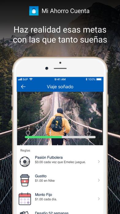 Mi Ahorro Cuenta screenshot three
