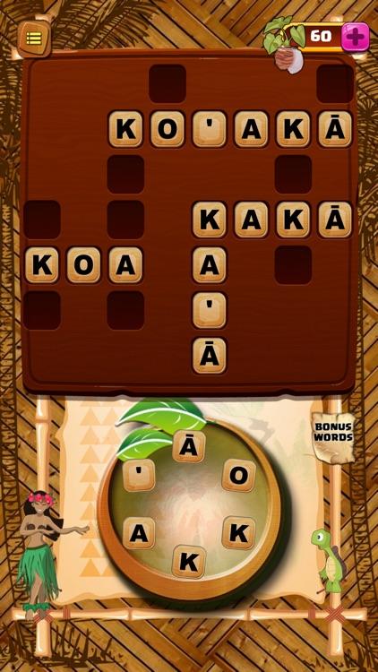 Akamai Words Hawaiian Puzzle screenshot-4