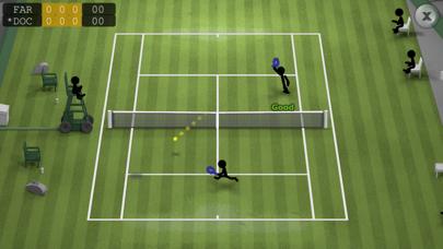 Stickman Tennisのおすすめ画像2