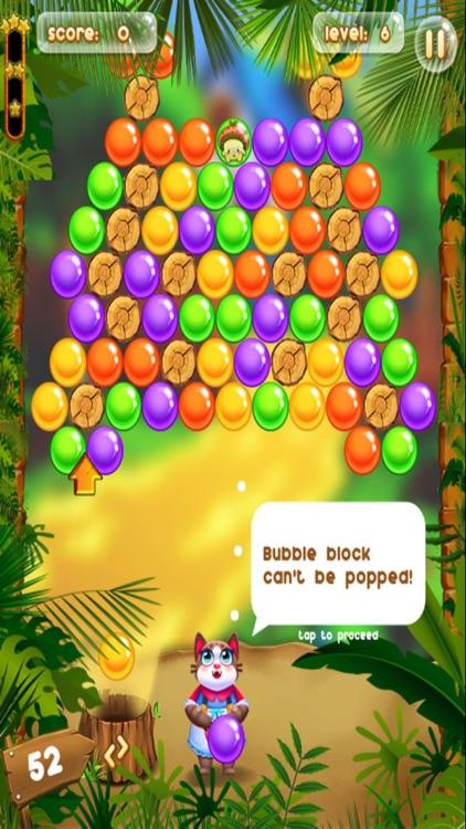 Bubble Shooter Cat & Mushroom screenshot-3