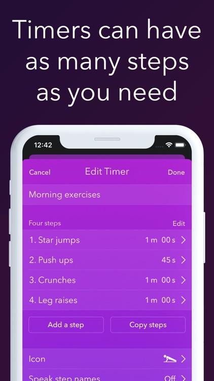 Timer & stopwatch - Timeglass screenshot-3