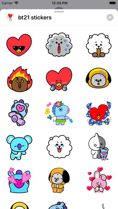 BT21 Stickers screenshot 3