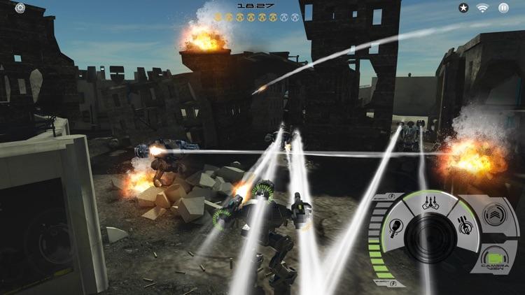 Mech Battle - Robots War Game screenshot-3