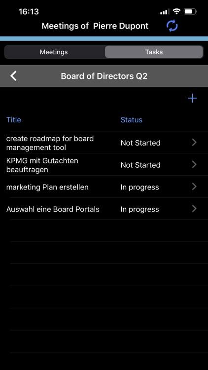 twelve mobile - Board Room screenshot-4