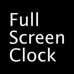 Fullscreen Clock