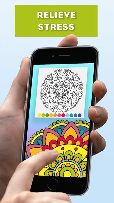 ZenBook - Coloring Calm Games Screenshot
