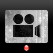 Vintage Film Camera - Retro-cinematic video recorder icon