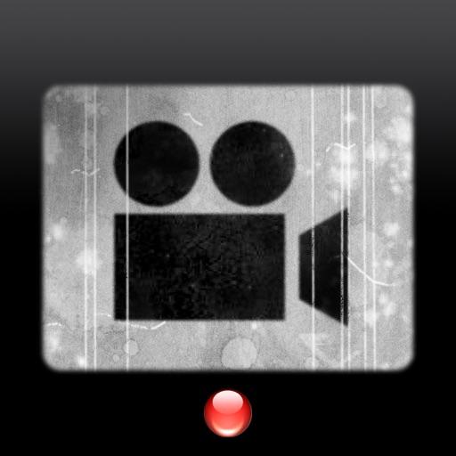 ビンテージフィルムカメラ - レトロ映画風ビデオカメラ
