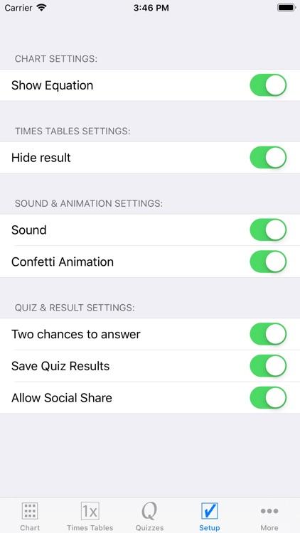 Multiplication Times Tables I screenshot-5
