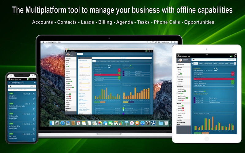 In-Mobility CRM for Mac