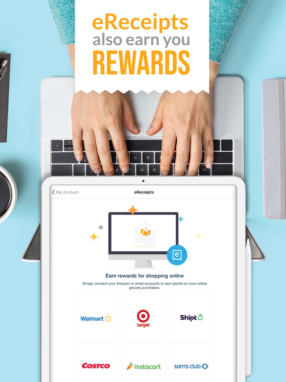 iPad Image of Fetch Rewards: Shop Snap Save