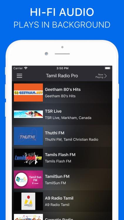 Tamil Radio Pro - No Ads screenshot-5