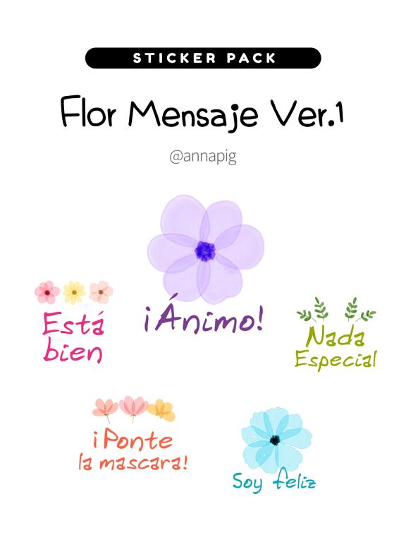 Flor Mensaje Ver1 screenshot 4