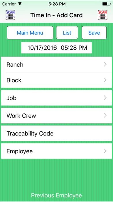 Screenshot of PET Pocket Wide App