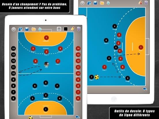 Screenshot #5 pour Planche Tactique: Handball++