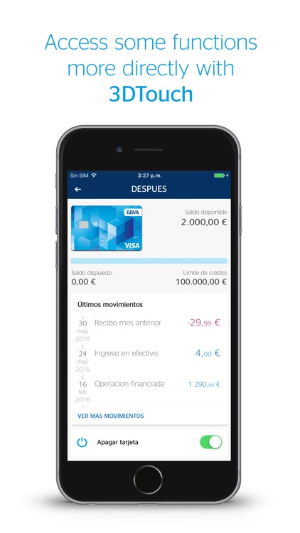 BBVA Wallet ES. Mobile Payment screenshot-1