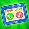 タブレットの開発(Toy Phone)ゲームと着色