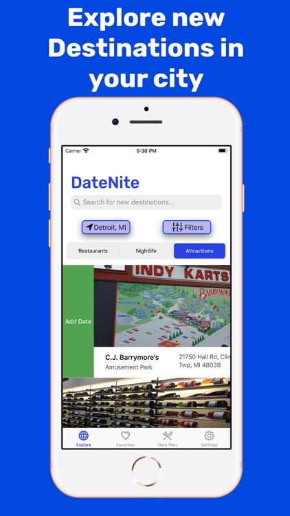 DateNite: Unique Date Planner