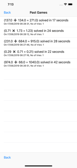 ‎Numbers Game: Calculate Faster Screenshot
